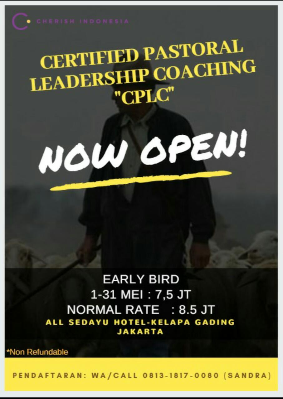 Certified Pastoral Leadership Coaching