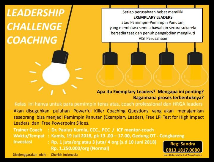 LEADERSHIP CHALLENGE COACHING