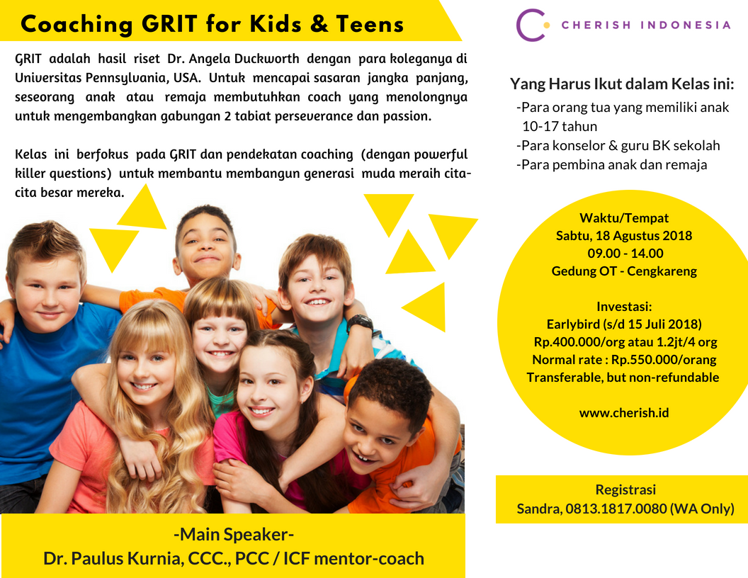 Coaching GRIT for Kids & Teens