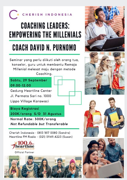 Coaching leaders empowering millenials