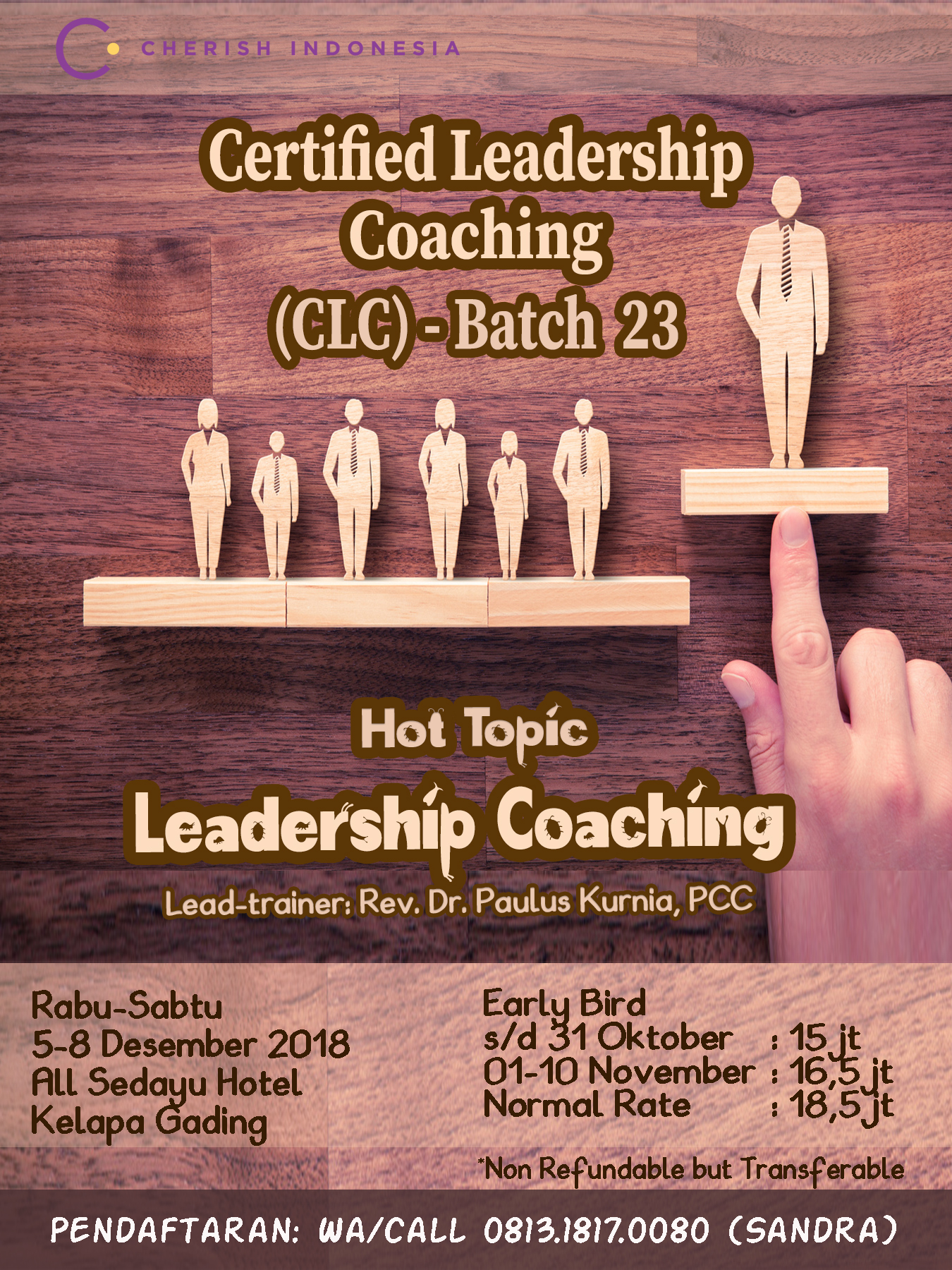 Certified Leadership Coaching Batch 23