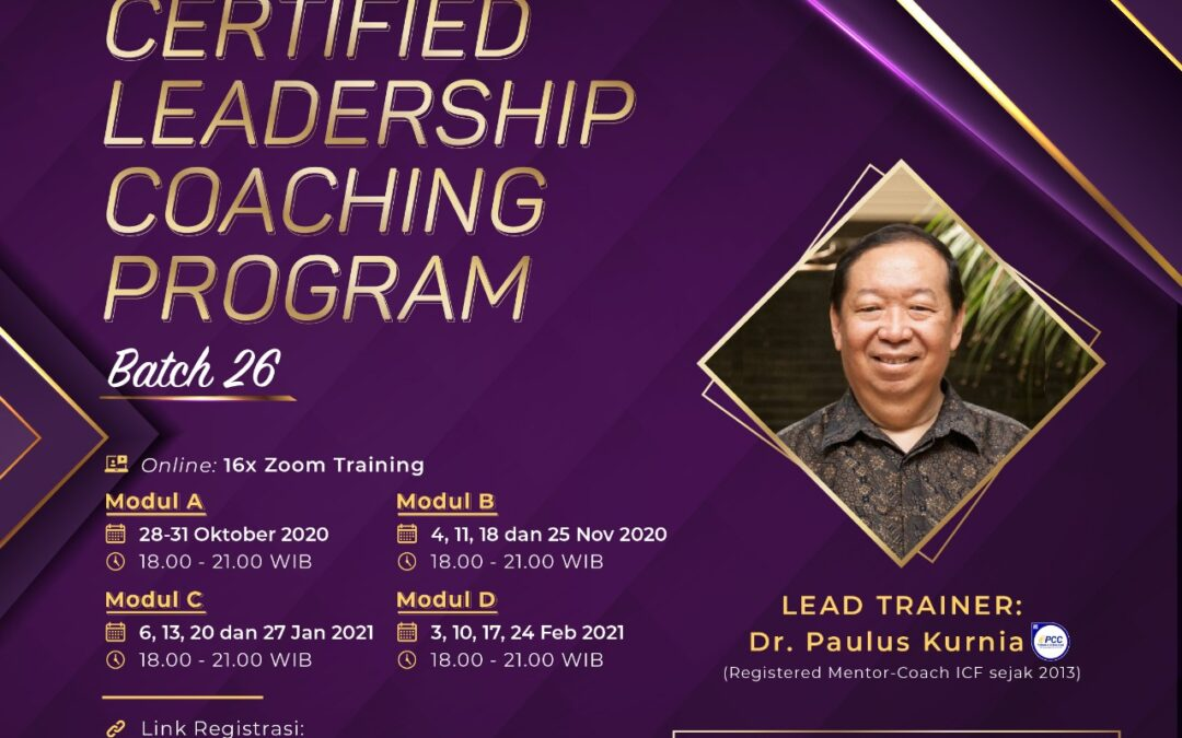 Certified Leadership Coaching Program