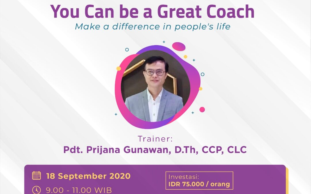 You Can Be a Great Coach