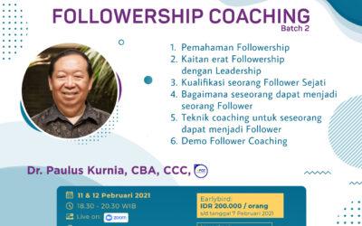 Followership Coaching – Batch 2