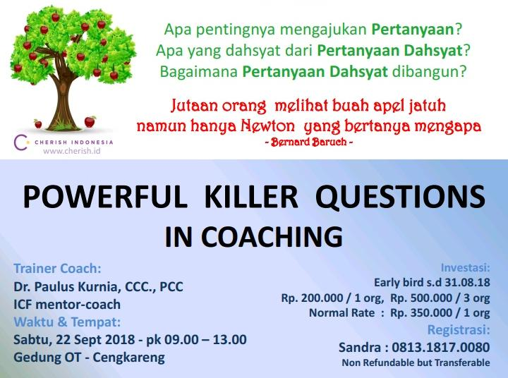 Powerful Killer Questions in Coaching