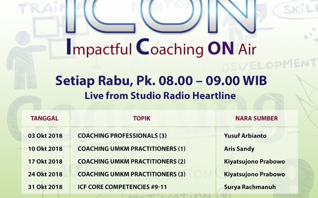 Coaching UMKM Practitioners (1) – iCON