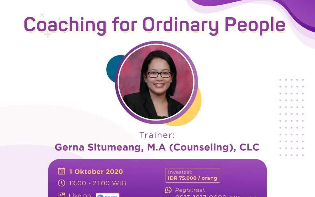 Coaching for Ordinary People